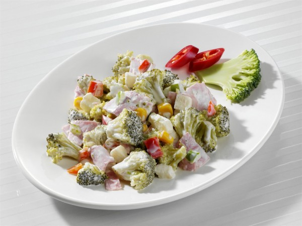 Broccoli-Schinken-Salat