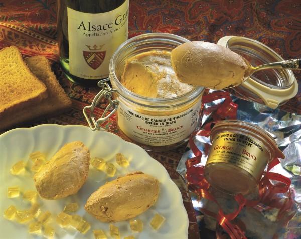 Foie Gras - Gänseleber aus dem Hause Georges Bruck